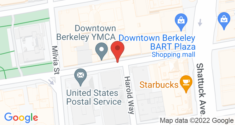 Berkeley, CA Social Security Office Map