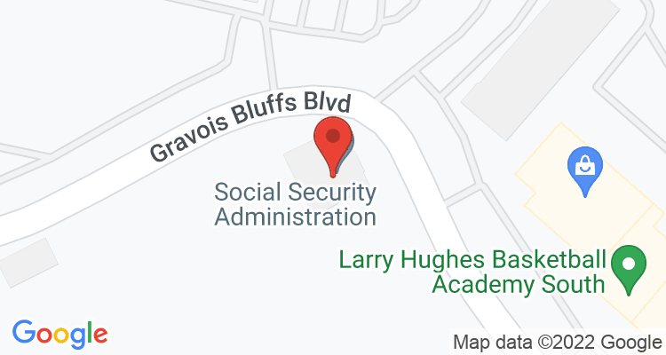 Fenton, MO Social Security Office Map