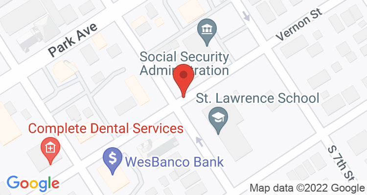 Ironton, OH Social Security Office Map