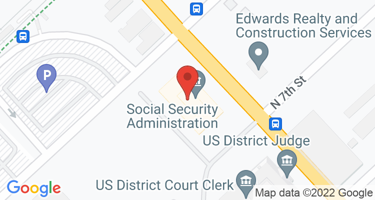 East St Louis, IL Social Security Office Map