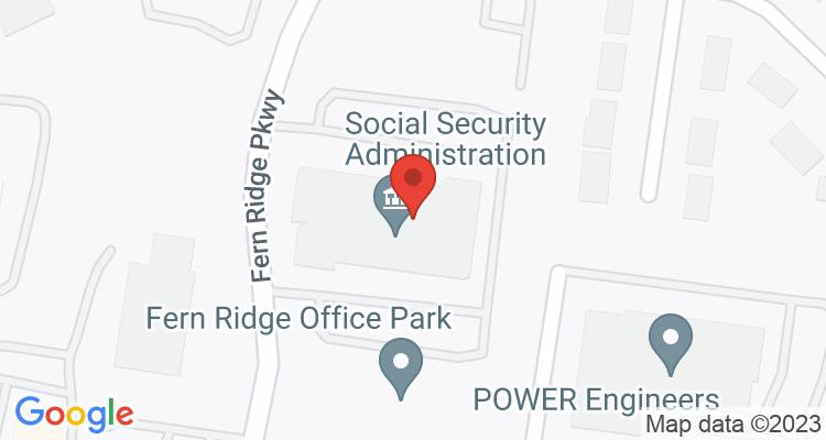 Creve Coeur, MO Social Security Office Map