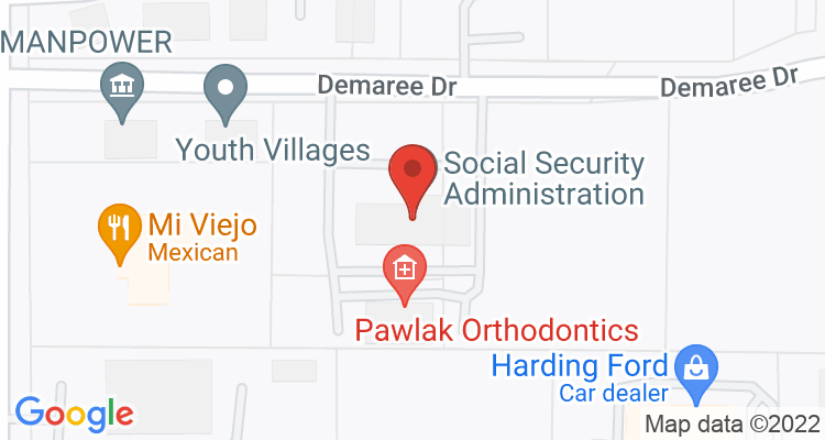 Madison, IN Social Security Office Map