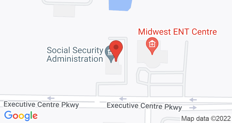 St Peters, MO Social Security Office Map