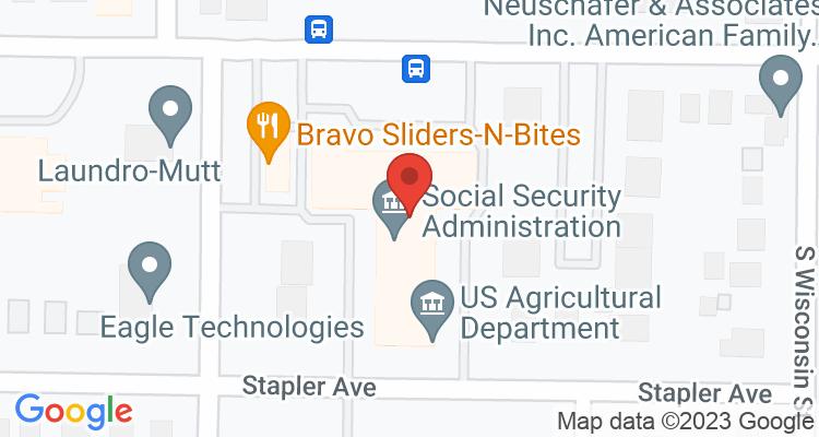 Salina, KS Social Security Office Map