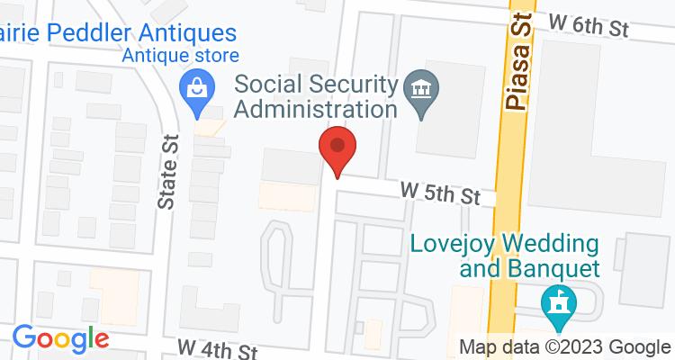 Alton, IL Social Security Office Map