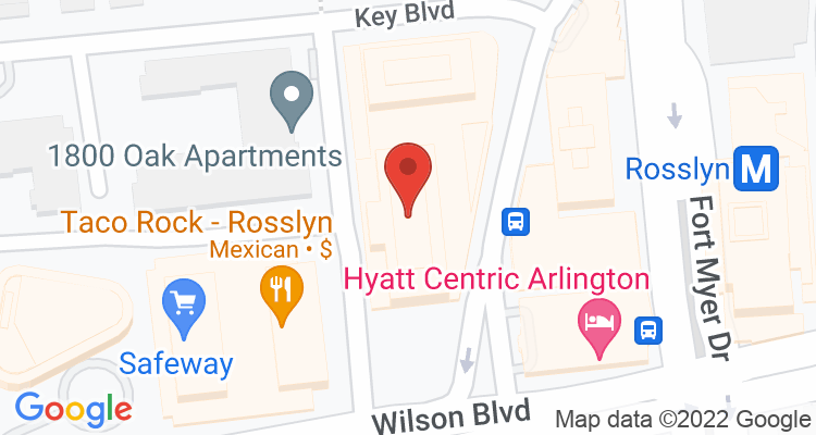 Arlington, VA Social Security Office Map