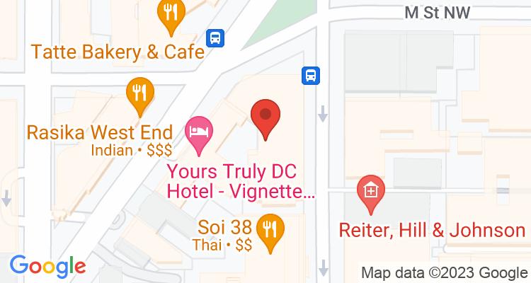 Washington, DC Social Security Office Map