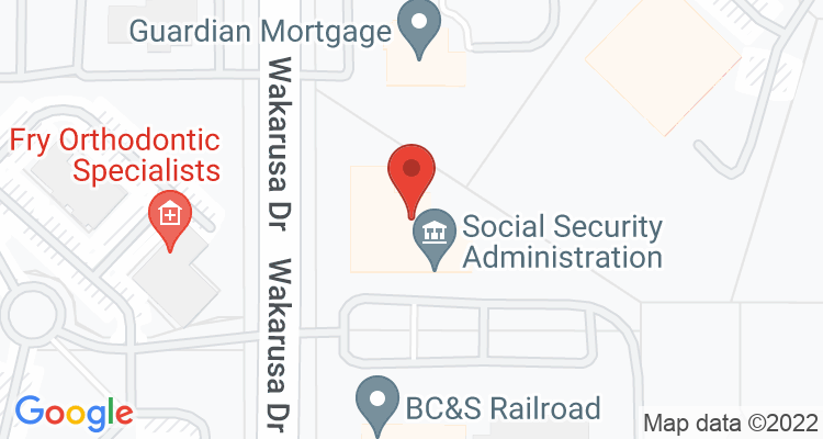 Lawrence, KS Social Security Office Map