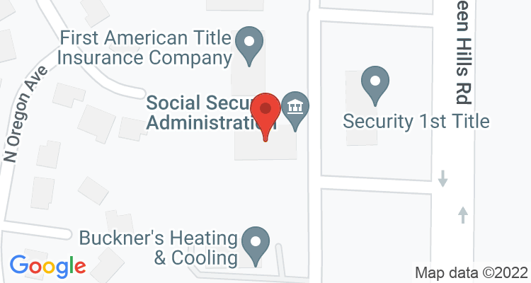 Kansas City, MO Social Security Office Map