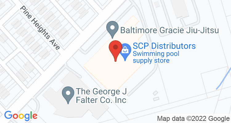Baltimore, MD Social Security Office Map