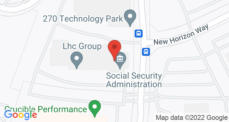 Frederick, MD Social Security Office Map