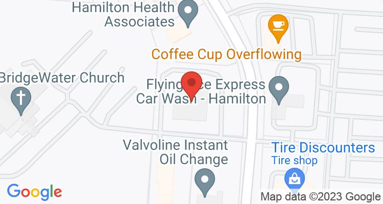 Hamilton, OH Social Security Office Map