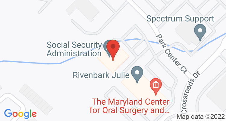 Owings Mills, MD Social Security Office Map