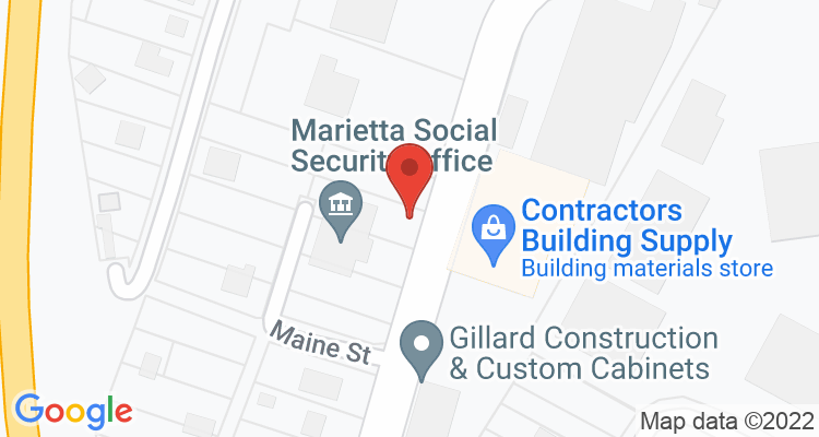 Marietta, OH Social Security Office Map