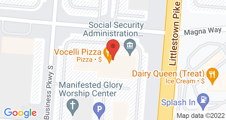 Westminster, MD Social Security Office Map