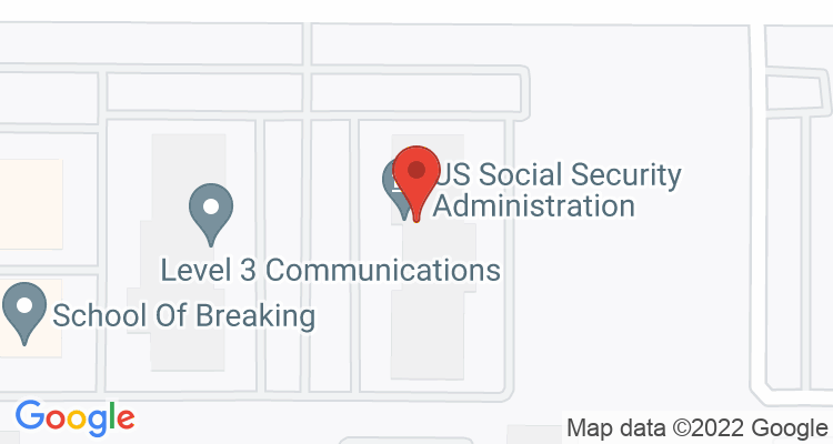 Aurora, CO Social Security Office Map
