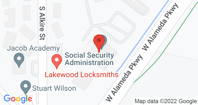 Lakewood, CO Social Security Office Map