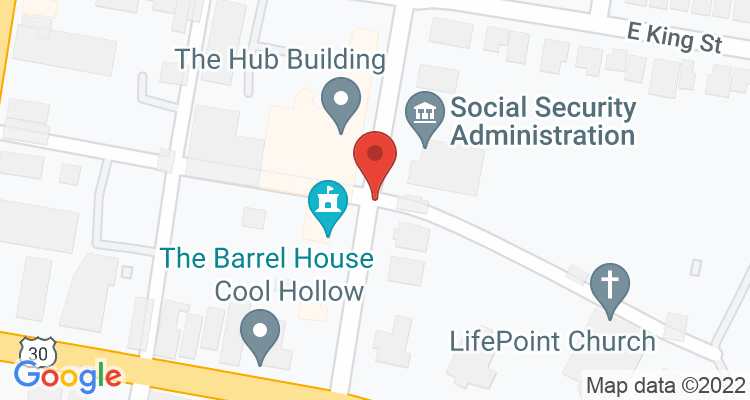 Chambersburg, PA Social Security Office Map