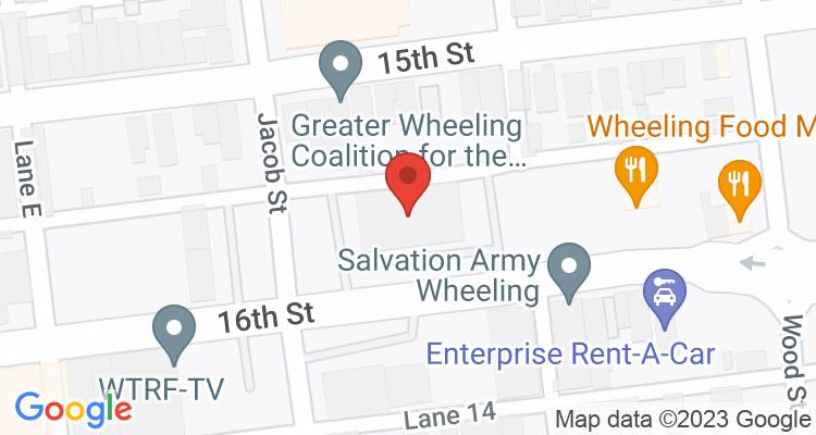 Wheeling, WV Social Security Office Map
