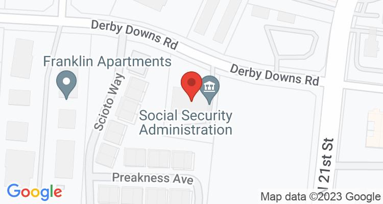 Newark, OH Social Security Office Map