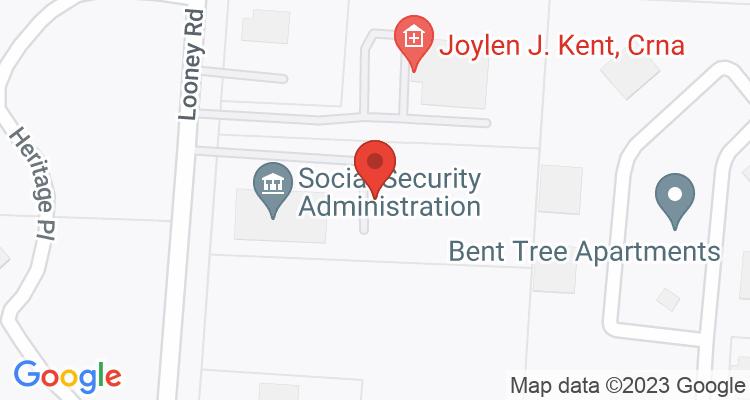 Piqua, OH Social Security Office Map