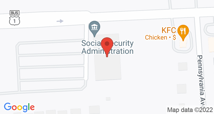 Fairless Hills, PA Social Security Office Map