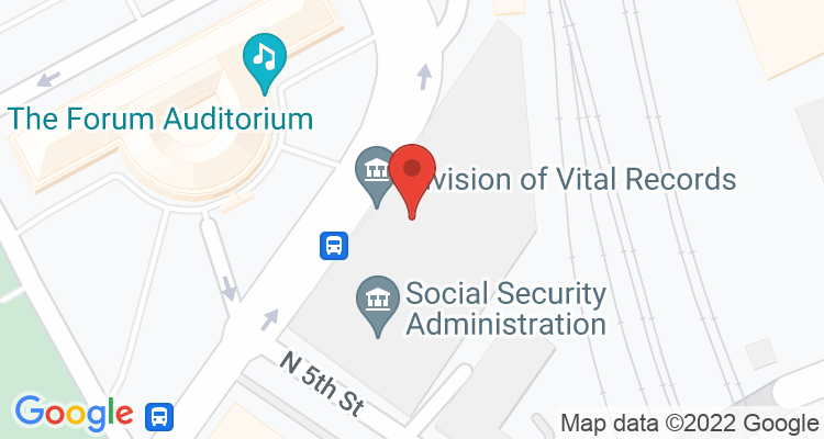 Harrisburg, PA Social Security Office Map