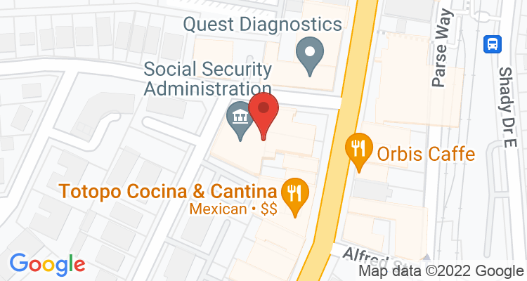 Pittsburgh, PA Social Security Office Map