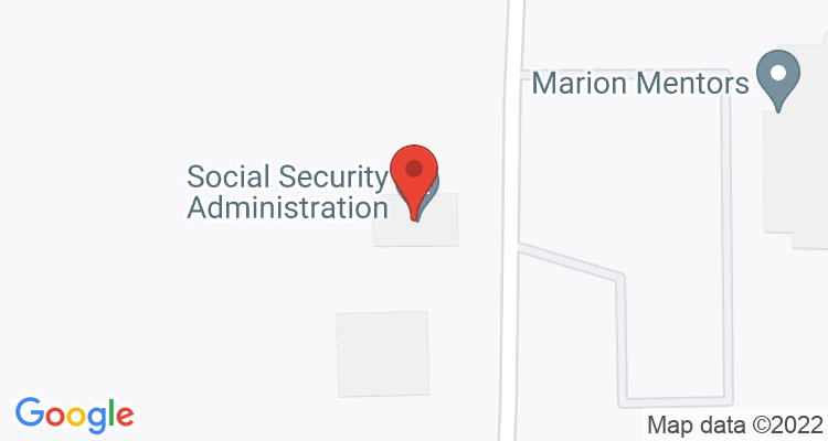 Marion, OH Social Security Office Map