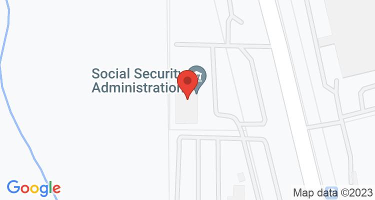 South Jordan, UT Social Security Office Map