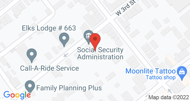 Lewistown, PA Social Security Office Map