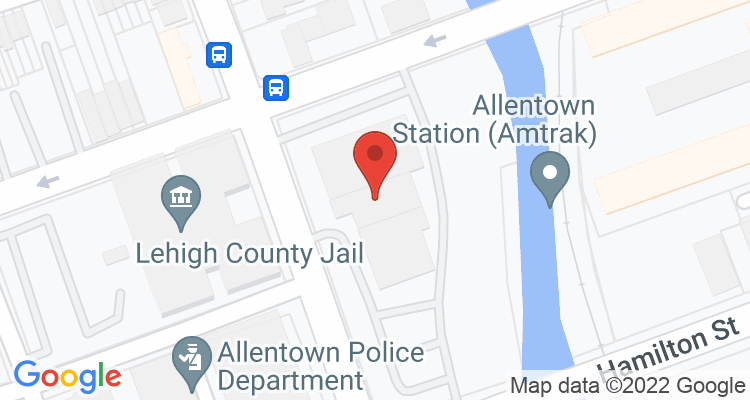 Allentown, PA Social Security Office Map