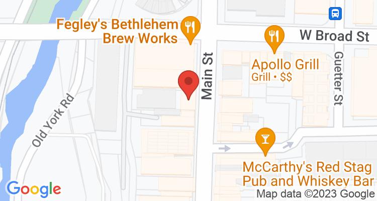 Bethlehem, PA Social Security Office Map