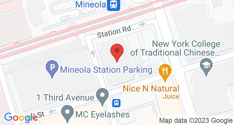 Mineola, NY Social Security Office Map