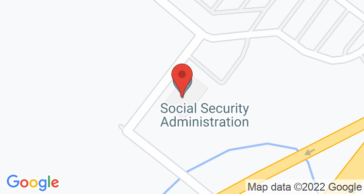 Selinsgrove, PA Social Security Office Map
