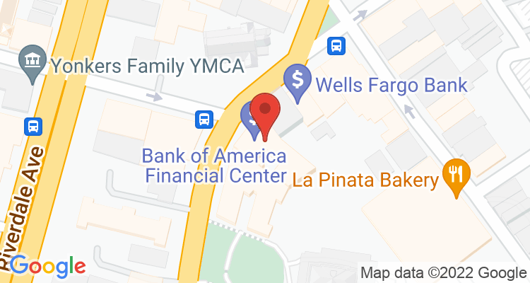 Yonkers, NY Social Security Office Map