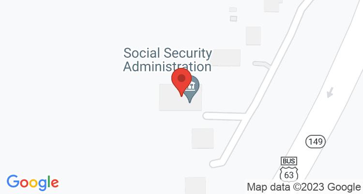 Ottumwa, IA Social Security Office Map
