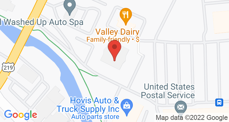 Dubois, PA Social Security Office Map