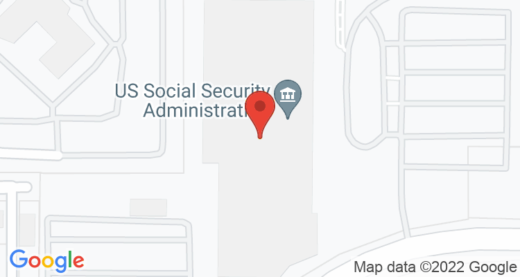 Cheyenne, WY Social Security Office Map
