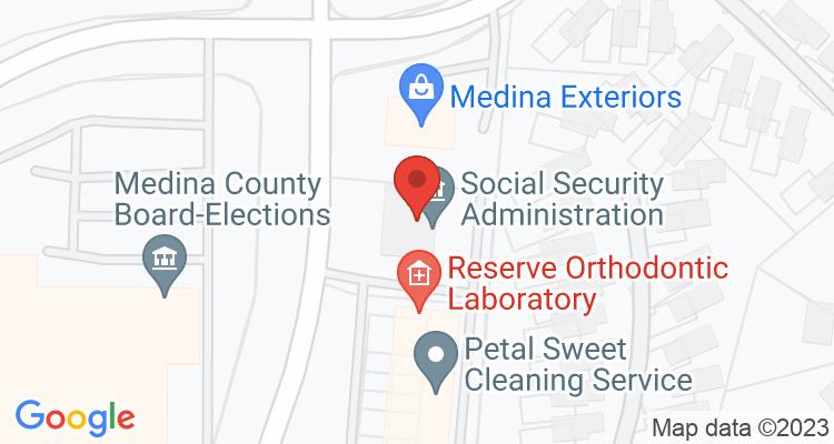 Medina, OH Social Security Office Map