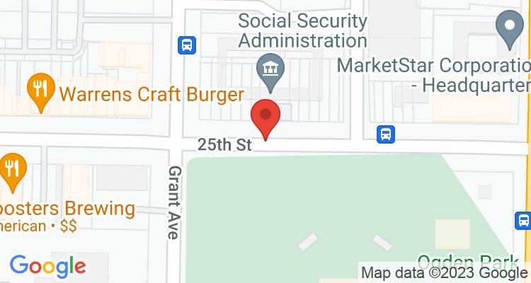 Ogden, UT Social Security Office Map
