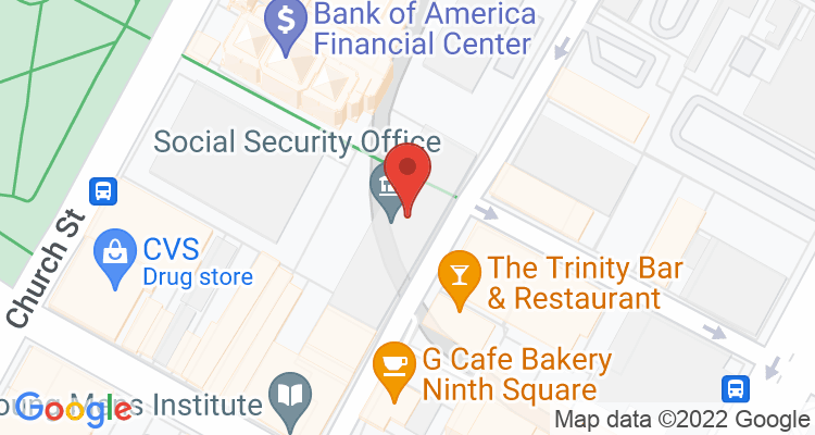 New Haven, CT Social Security Office Map