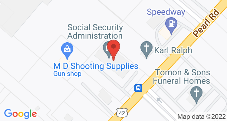 Middleburg Hts, OH Social Security Office Map