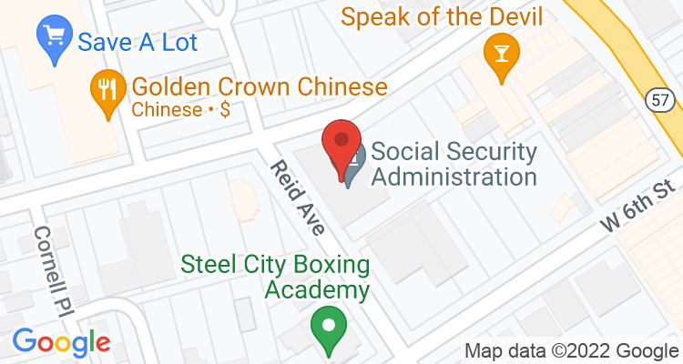 Lorain, OH Social Security Office Map