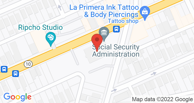 Cleveland, OH Social Security Office Map