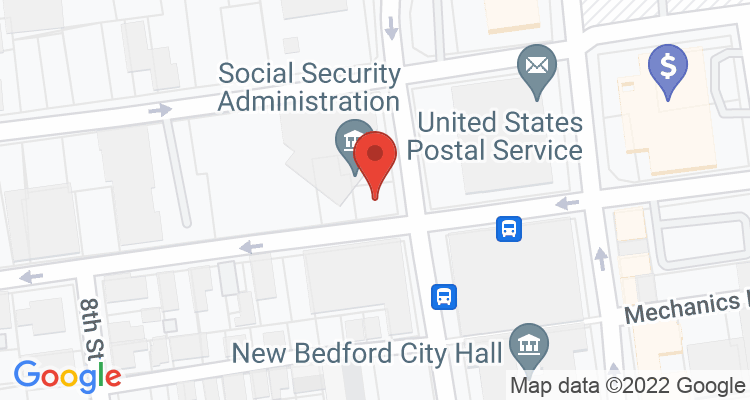 New Bedford, MA Social Security Office Map