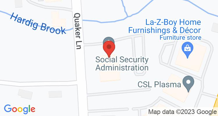 Warwick, RI Social Security Office Map
