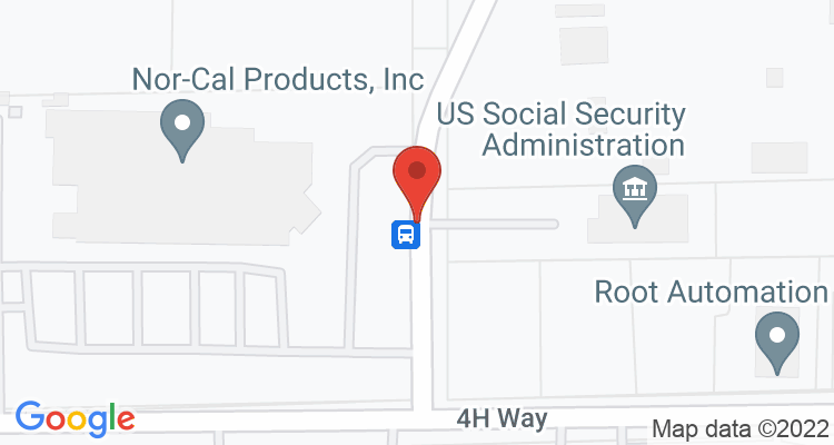 Yreka, CA Social Security Office Map