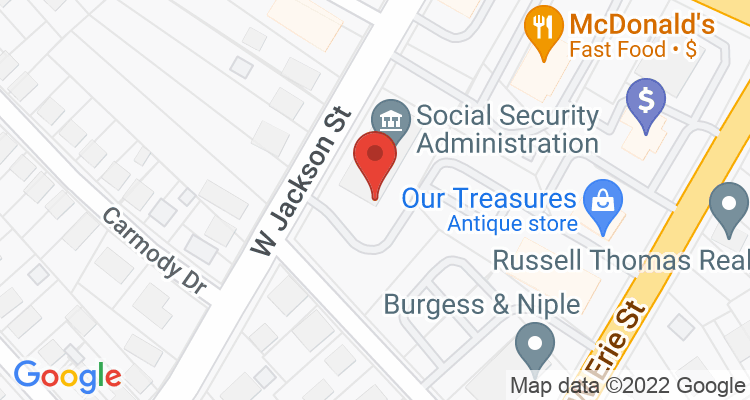 Painesville, OH Social Security Office Map