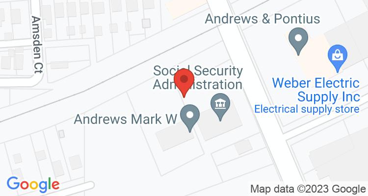 Ashtabula, OH Social Security Office Map